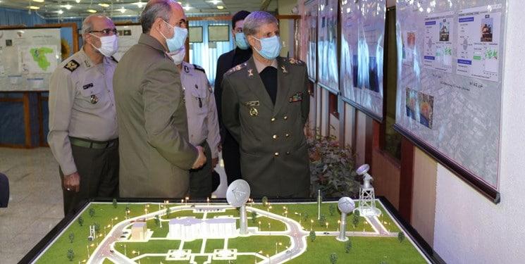 افتتاح خط تولید نقشههای دیجیتال و سامانه مدیریت اطلاعات مکانی توسط وزارت دفاع