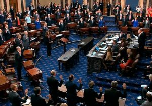 تلاش سناتورهای جمهوریخواه برای غیرقانونی اعلام کردن استیضاح ترامپ شکست خورد
