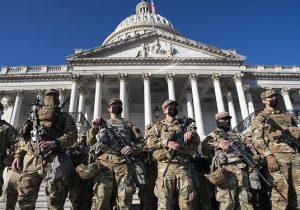 ۷۰۰۰ نیروی گارد ملی تا اواخر اسفند در واشنگتن باقی میمانند