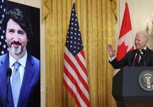 توافق سران آمریکا و کانادا برای تقابل با چین
