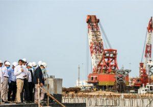 نخستین اسکله گاز مایع بندر صادراتی تمبک به بهرهبرداری رسید