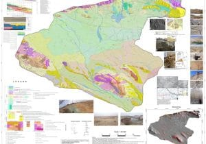 تهیه نقشه زمینشناسی یکپارچه حوضه تهران