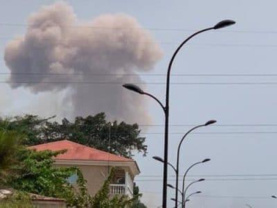 صدها مجروح در پی ۴ انفجار در پایگاه نظامی در گینه استوایی