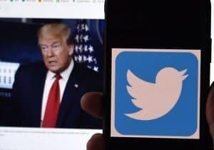 توئیتر چند حساب کاربری مرتبط با ترامپ را مسدود کرد