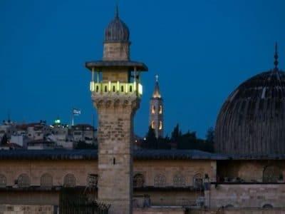 خشم فلسطینیها از قطع بلندگوهای مسجدالاقصی در اول رمضان
