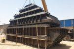 ساخت و تحویل مخازن ۱۸۰ متر مکعبی  در ۷۸ روز